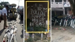 போலீஸாரின் செயலால் கடுப்பாகிய வாகன ஓட்டிகள்: வைரலாகும் புகைப்படம்...!