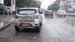 சென்னையில் மஹிந்திரா கேயூவி100 எலெக்ட்ரிக் கார் சோதனை!