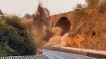 இந்தியாவின் மிக பழமையான மேம்பலாத்திற்கு நிகழ்ந்த சோகம்.. தேசிய ஊரடங்கில் வரலாற்ற சின்னத்தை அழித்த