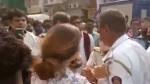 கோபத்தில் இளம்பெண் செய்த காரியம்... அரண்டுபோன போலீஸ்... இணையத்தில் வைரலாகும் வீடியோ..!