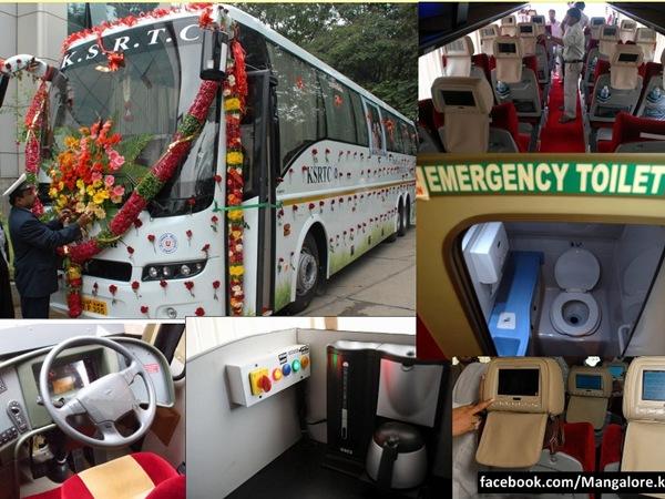 now enjoy bliss ksrtc buses