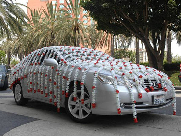 Funny Wedding Cars Images Collection
