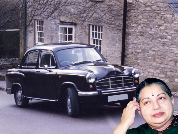 மறைந்த முன்னாள் முதல்வர் ஜெயலலிதாவின் கார் கலெக்ஷன்!