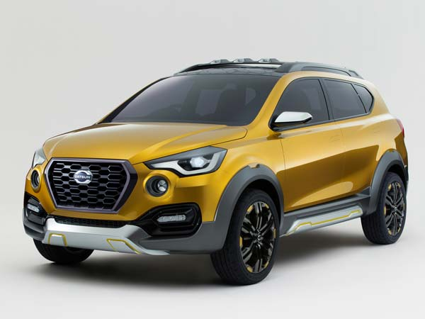 Datsun Go Cross was Debuted at 2015 Tokyo Motor Show