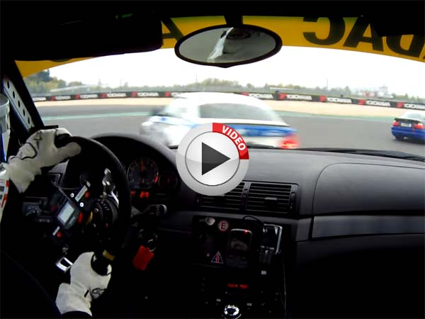 Extraordinary Reflexes and Skill Saves This Racer at Nurburgring in Germany