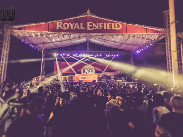 Royal Enfield Rider Mania event In Goa From November 20 2015