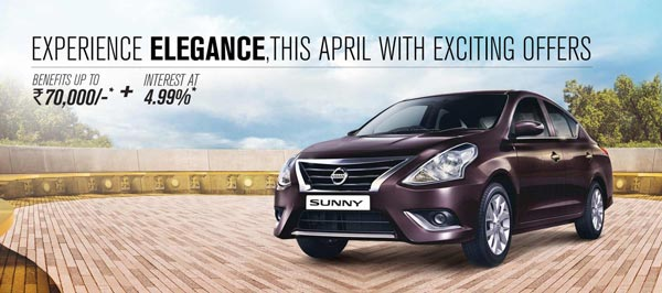 nissan-india-offers-and-discounts-on-cars-2016-april-sunny
