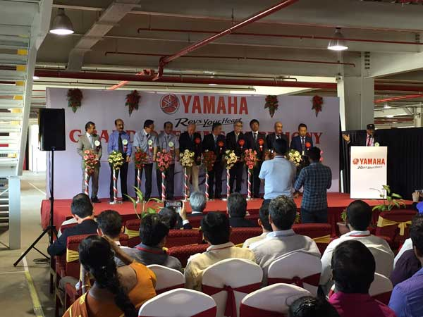 yamaha-spare-parts-centre-opened-chennai-in-tamil-nadu