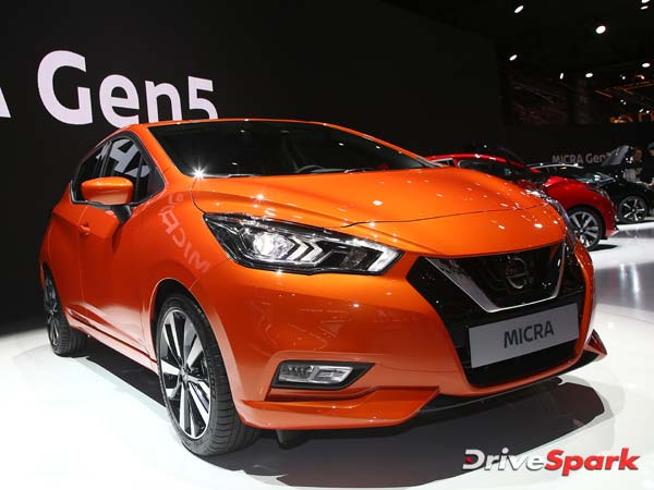 New Nissan Micra Car Unvieled in Paris Motor Show