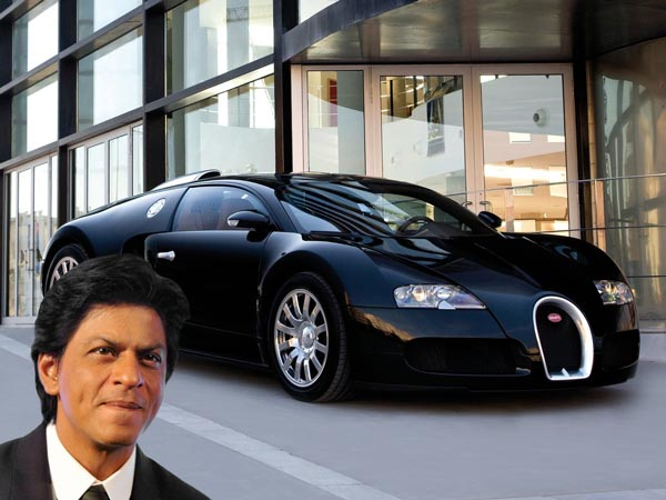 bugatti veyron shahrukh khan celebrities and their a list cars maharashtratimes photogallery 7. Black Bedroom Furniture Sets. Home Design Ideas