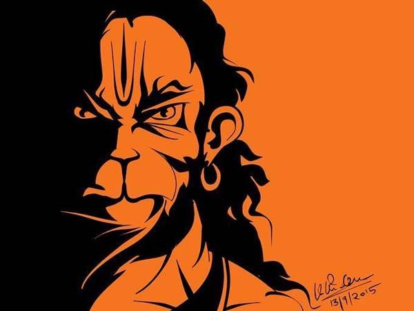 அனுமானின் உருவப்படத்தை ஃபேஷனாக்கும் கர்நாடகா இளைஞர்கள்