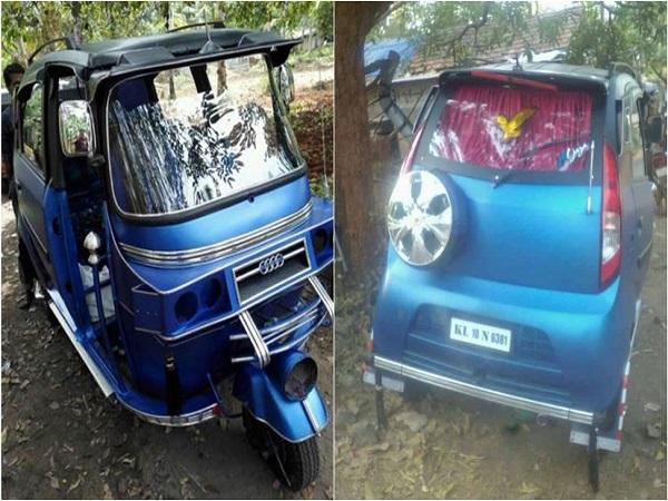 டாடா நிறுவனர் ரத்தன் டாடாவின் கவனத்தை ஈர்க்குமா இந்த 'நானோ' ஆட்டோ?