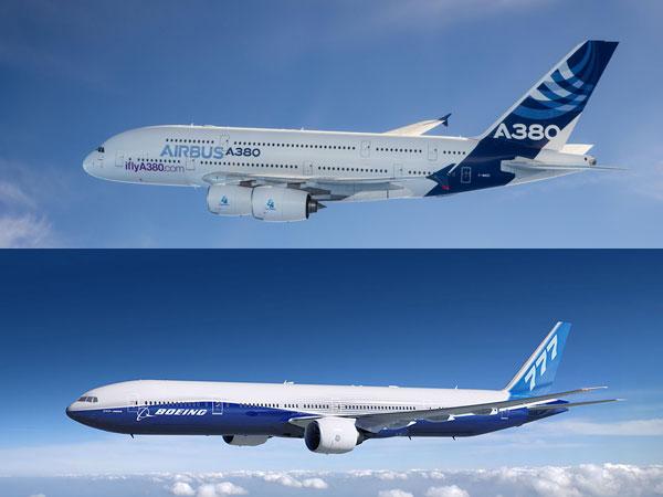 ஏர்பஸ் ஏ380 Vs போயிங் 777: உலகின் மிகப்பெரிய பயணிகள் விமானங்களின் சுவாரஸ்ய ஒப்பீடு!