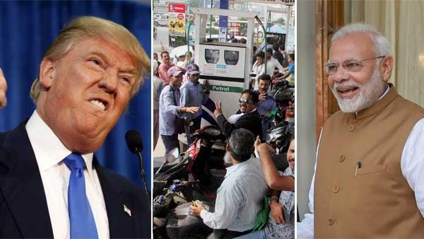 மோடி மீதான ஆத்திரத்தில் 'அந்த' வார்த்தையை விட்ட டிரம்ப்.. இந்தியா மீது போர் தொடுக்கிறது அமெரிக்கா?
