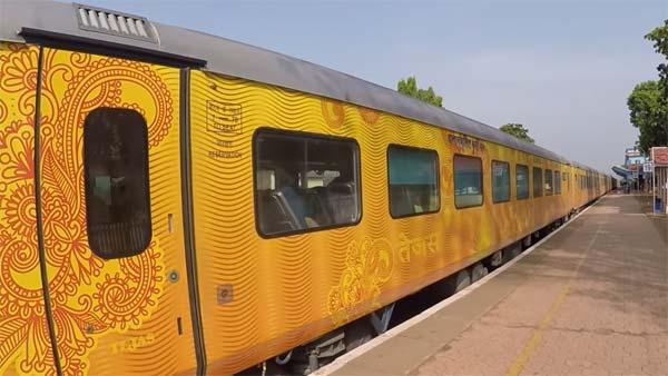 சென்னை - மதுரை இடையே தேஜஸ் ரயில்... குளு, குளு வசதியுடன் ஜிலு ஜிலு பயணம்!