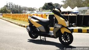 புதிய 150 சிசி இன்ஜின் கொண்ட ஸ்கூட்டரை அறிமுகப்படுத்த டிவிஎஸ் திட்டம்