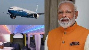 விரைவில் பிரமதர் மோடிக்கான புதிய போயிங் 777 சொகுசு விமானம்!