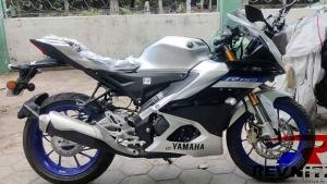 Yamaha R15 M பைக்கின் விபரங்கள் இணையத்தில் கசிந்தன!! ஸ்பை படங்கள் லீக்!