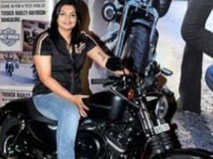 ஹார்லி டேவிட்சன் பைக்கின் உரிமையாளரான முதல் இந்தியப் பெண்!