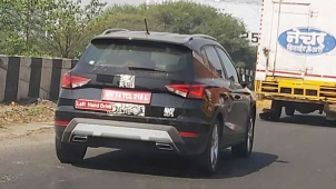 இந்தியாவில் சாலை சோதனை ஓட்டத்தில் சீட் அரோனா கார்!! எதற்காக இருக்கும்?