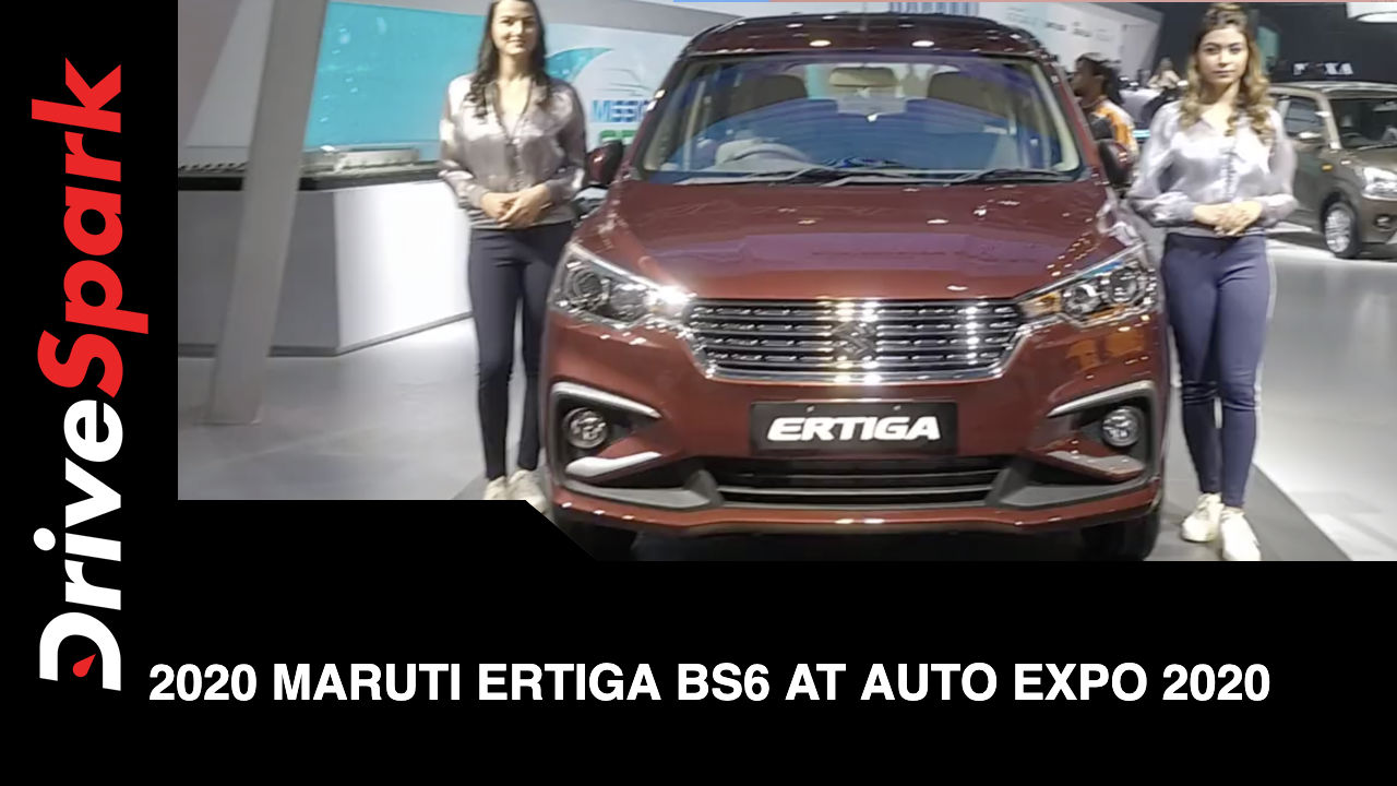 Maruti Showcases New Ertiga At Auto Expo 2020